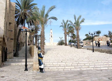 Center square in old city Jaffa,Israel.