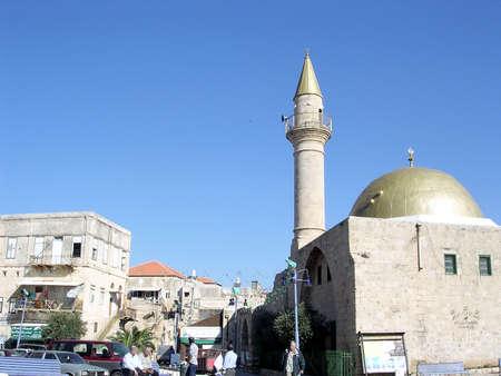 akko: Sinan Pasha Mosque in the old city of Acre, Akko, Israel