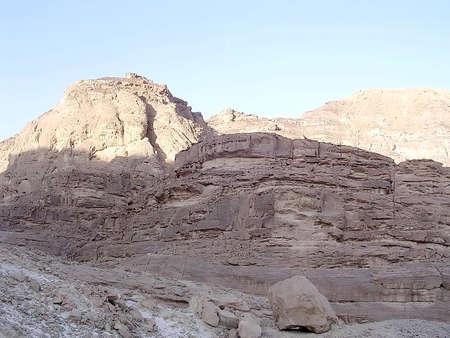 arava: Mountain on edge of the Arava Desert near Eilat in Israe