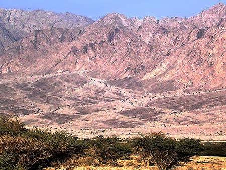 arava: Arava Desert and Mountains near Eilat in Israel