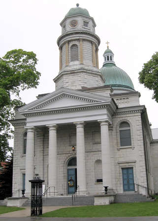 kingston: Cathedral church of St George in Kingston Ontario, Canada