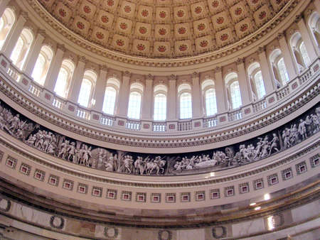 constantino: The dome inside of US Capitol in Washington DC