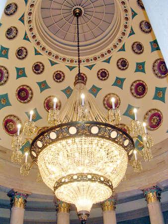 constantino: The Small Senate Rotunda in US Capitol in Washington DC