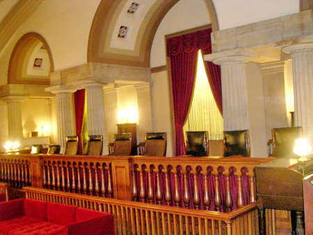 Old Supreme Court Hall of US Capitol in Washington DC, USA