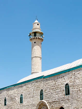 coran: The building of Great Mosque in Ramla, Israel