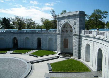 national military cemetery: Women in Military Service Memorial in Arlington National Cemetery, Arlington Virginia USA