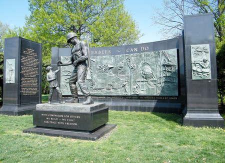 美国弗吉尼亚州阿灵顿国家公墓的seabee纪念馆