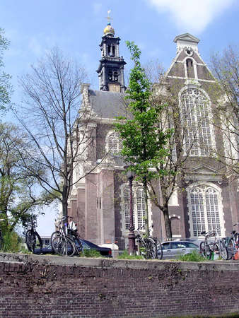 prinsengracht: Western Church is a Dutch Protestant church located on the Prinsengracht canal in Amsterdam, Netherlands