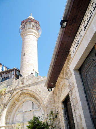 View of Al-siksik mosque in old city Jaffa, Israel