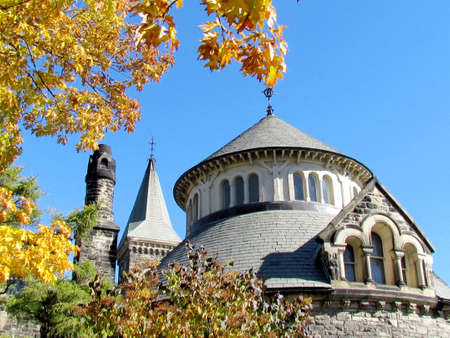 croft: View of Croft Chapter House in the University of Toronto Ontario on October