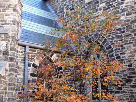 anglican: St. Pauls Anglican Church automn in Toronto Ontario, Canada