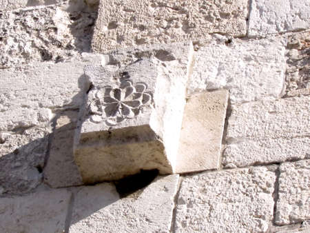 Detail of Jaffa Gate in Christian Quarter of old Jerusalem, Israel Stok Fotoğraf - 47536204