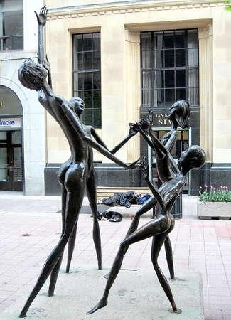 ottawa: Dancing statues in Ottawa,Canada