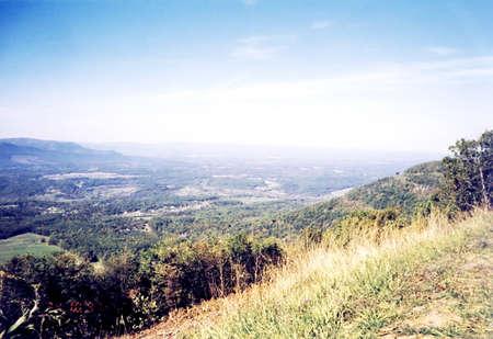 appalachian: Beautiful view in Shenandoah National Park, USA