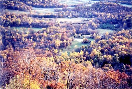 appalachian: Autumn view in Shenandoah National Park, USA