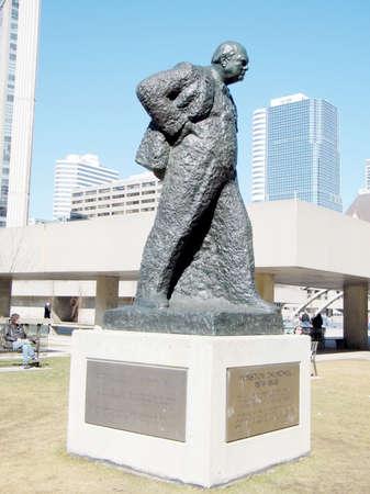 churchill: Sir Winston Churchill Memorial in Toronto, Canada