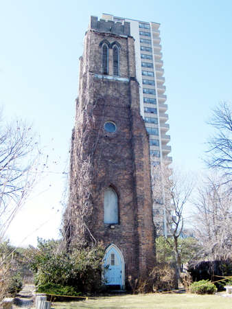 anglican: View of St. George the Martyr Anglican Church in Toronto Ontario, Canada Editorial