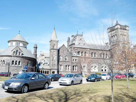The  main buildings of the University of Toronto in Toronto Ontario, Canada