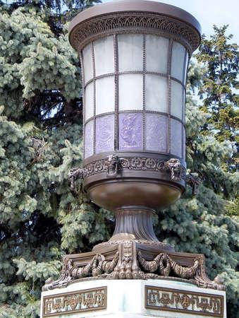 Grand vase décoré à l'Organisation des États américains à Washington DC Banque d'images - 54659221