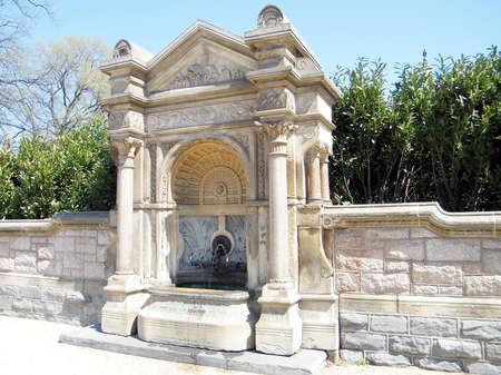 garden features: Drinking Fountain near Capitol in Washington DC