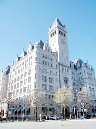 Old Post Office Building in Pennsylvania Avenue in Washington DC
