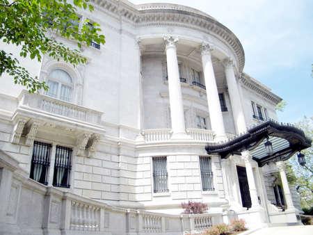ambassadors: Turkish Ambassadors Residence in Washington DC, USA Editorial