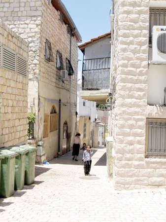 spirtual: The little street in Old City Safed, Israel