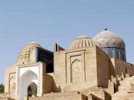 Ensemble of mausoleums Shakhi-Zindah in Samarkand, Uzbekistan