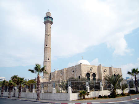 etymology: The Hasan-bey Mosque in Tel Aviv, February 2011 Israel