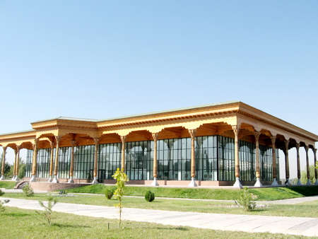The Exhibition Gallery in the city of Tashkent, the capital of Uzbekistan