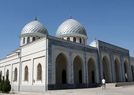 cupolas: Two Cupolas of Juma Mosque in Tashkent, Uzbekistan
