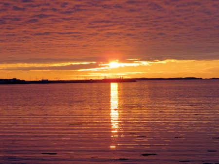 newfoundland: The sunset in Newfoundland