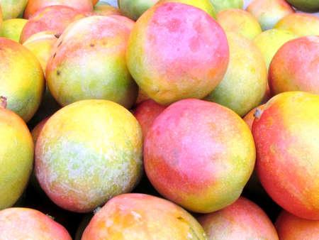 Mango on bazaar in Tel Aviv