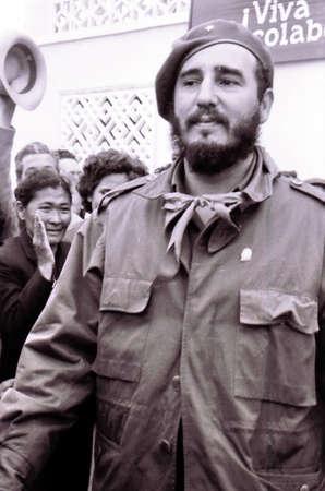 castro: Fidel Castro in Yangiyer, Uzbekistan, May 10, 1963 Editorial