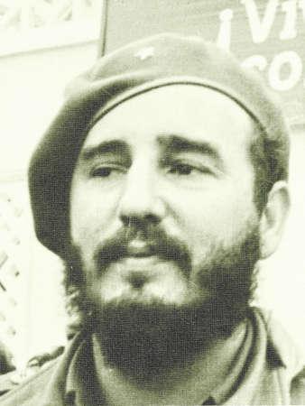 castro: Portrait of Fidel Castro in Yangiyer, Uzbekistan, May 11, 1963. Editorial