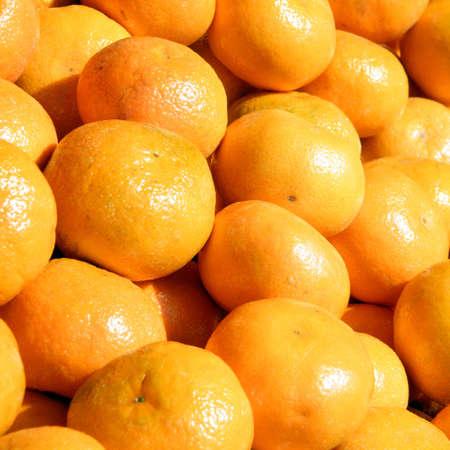 The clementines on bazaar in Tel Aviv, Israel,January 20, 2011