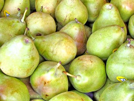 Pears on bazaar in Tel Aviv, Israel, August 2, 2012