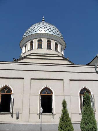 identical: Dome of Juma Mosque in Tashkent, Uzbekistan, September, 2007