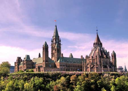 Parliament building in Ottawa, Canada, May 18, 2008 Editorial