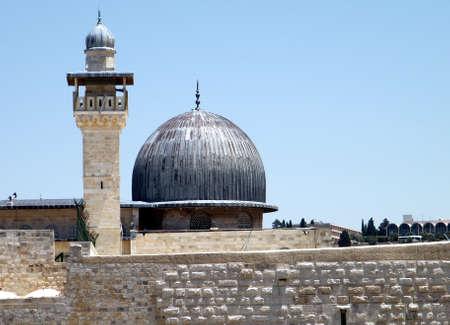 Al-Aqsa Mosque in Old Jerusalem,Israel