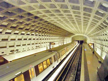 워싱턴, 미국, 2004 년 10 월 13 일 지하철 역
