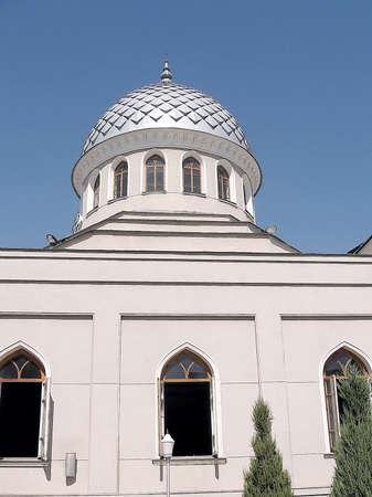 Dome of Juma Mosque in Tashkent, Uzbekistan