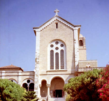 View of Trappist Monastery in Latrun, Israel, June 8, 1996