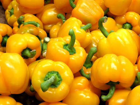 Pepper on market in Thornhill, Canada, March 26, 2018                                Stock fotó