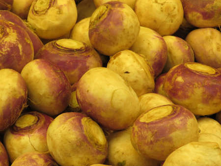Turnip on market in Thornhill, Canada, May 6, 2018