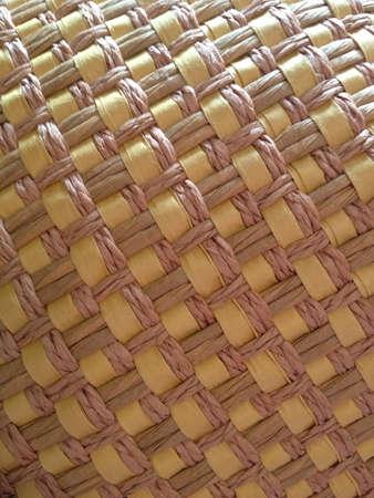 weave: Straw hat texture
