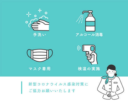 New Coronavirus Infection Prevention Icon Set Material