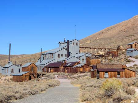 Verlassene Goldaufbereitungsanlage, Bodie, Geisterstadt, Kalifornien
