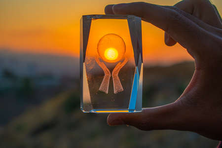 appreciating the sun