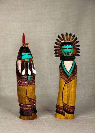 hopi: Hopi bambole kachina da Arizona